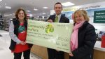 waitrose photos with cheque
