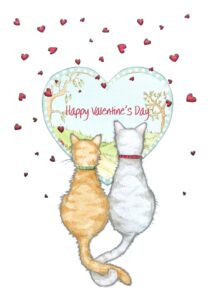 Cheadle Valentine cats