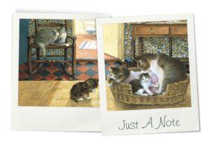 Cheadle notelets cats photos 2