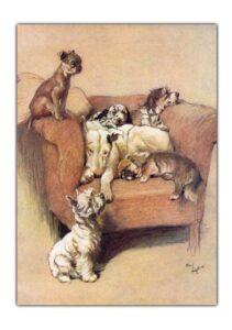 Cheadle Cecil Aldin dogs front - Copy